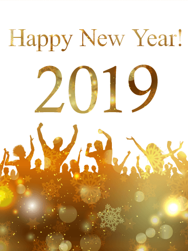 Happy New Year 2019 Greetings Celebrations