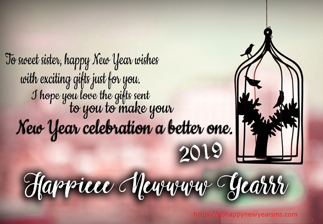 Happy New Year 2019 Greetings Inspirational