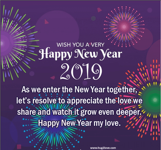 Happy New Year 2019 Greetings Wishes Images