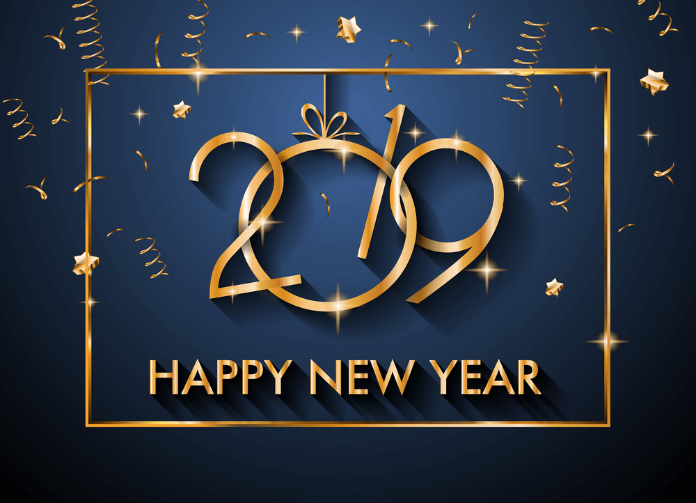 Happy New Year 2019 Images Calender Celebrations