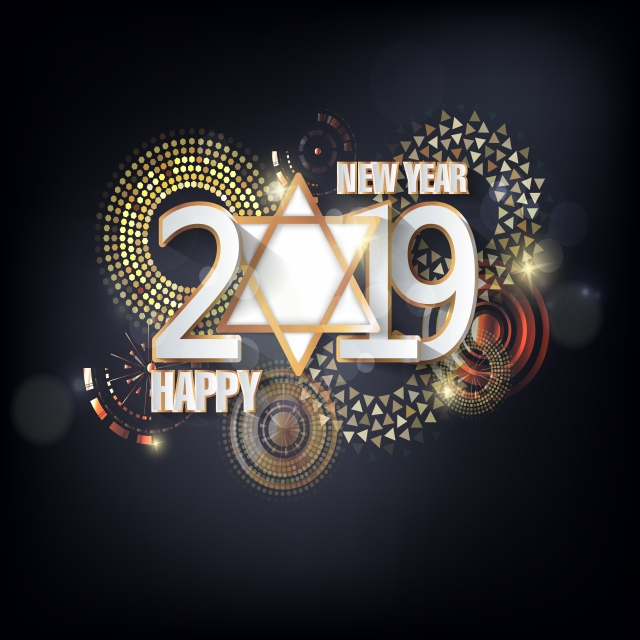 Happy New Year 2019 Images Vector